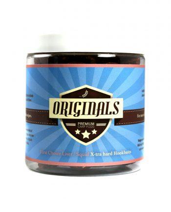 Originals-Premium Carp Food X-tra Hard Hookbait Liver Squid